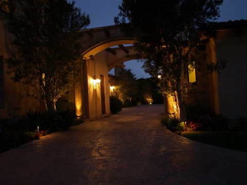 Exterior Lighting Dos Vientos Modern Outdoor  Lighting