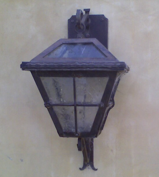 Exterior Lighting Dos Vientos Sconce
